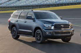 2018 Toyota Sequoia TRD Sport front three quarter - Motor Trend