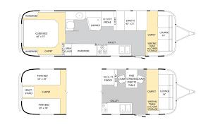 airstream floor plans. Airstream 31 Classic Travel Trailer Floorplan Floor Plans O