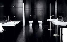 large size design black goldfish bath accessories:  bathroom large size modern home interior bathroom design ideas with elegant shiny awesome cool black