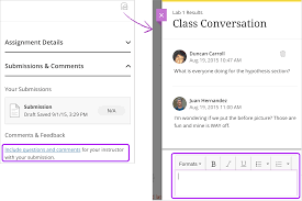 submit assignments blackboard help you can ask for help share sources or answer questions others have about an assignment