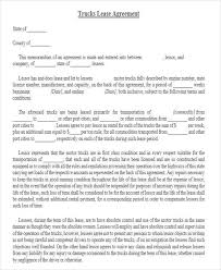 39 Printable Lease Agreements | Sample Templates
