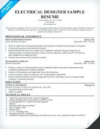 Electrical Engineer Resume Sample Pdf Electronics Engineering