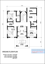 kerala model villa plan with elevation 2061 sq feet for 3 bedroom house plans kerala model