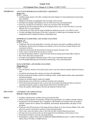 Data Visualization Resume Examples Data Scientist Data Analytics Resume Samples Velvet Jobs 18