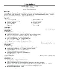 House Cleaner Job House Cleaning Resume Sample House Cleaners Maintenance And