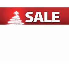 Christmas Sale Signs Write On