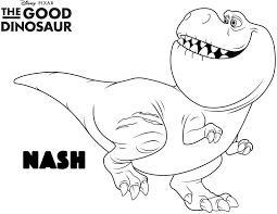 The Good Dinosaur Coloring Pages At Getdrawingscom Free For