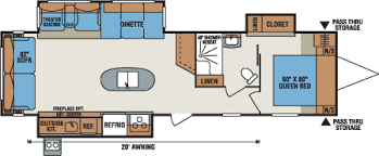 travel trailer floor plans. 2016 K-Z RV Spree 328IK Travel Trailer Floorplan Floor Plans \