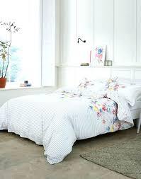 plain white bedding set