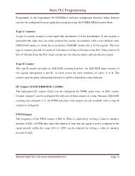 basic plc programming e book reliance high tech