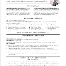 Interior Design Resume Examples Inspiration Sales Resume Template New Resume Samples Types Of Resume Formats