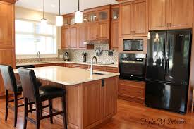 maple kitchen cabinets with black appliances. Full Size Of Kitchen Decoration:discontinued Cabinets Natural Cherry Photos Backsplash Ideas Maple With Black Appliances K