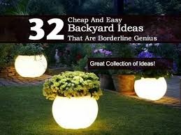 cheap outdoor lighting ideas. 32 Cheap And Easy Backyard Ideas That Borderline On Genius Outdoor Lighting O