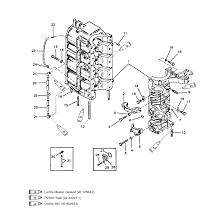 Genuine mercury mercruiser parts cylinder block and crankcase rh mercruiserparts