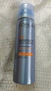 l oreal paris uv perfect aqua essence city face mist