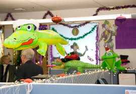 ucop decks the halls for annual holiday party and decoration