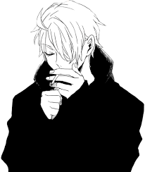 13 Smoking Clipart Anime Girl Free Clip Art Stock Illustrations