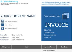 Microsoft Fax Templates Free Download Microsoft Excel Invoice Template Free Collection Simple As