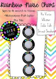 Our Classroom Noise Level Chart For Push Lights By Jessica Junes