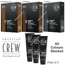 American Crew Mens Hair Colour Dye Precision Blend Cover Grey All Type Stocked Ebay