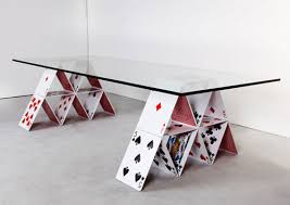 interesting furniture design. House-of-Card-Table Innovative Furniture Design: Coffee Tables, Chairs, Interesting Design