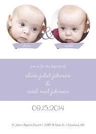 Twin Baptism Invitations Twin Baptism Invitations Oubly Com