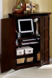 corner office armoire. wonderful office small corner computer desk armoire to office f