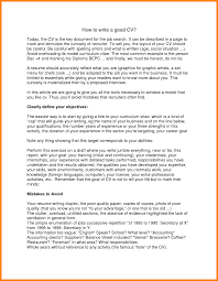 How To Write Resume With No Job Experience Or Volunteer Good For