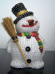 <b>Sequin Snowman</b> | <b>Sequin</b> crafts, Beaded <b>christmas</b> ornaments ...