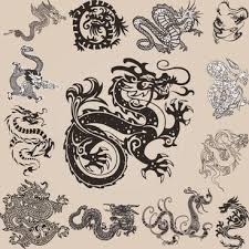Dragon Pattern Unique Golden Dragon Chinese Pattern Free Vector Download 4848 Free