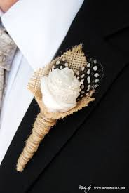 how to make a boutonniere for your diy wedding