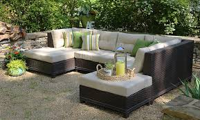 Amazon AE Outdoor 4 Piece All Weather Hillborough Sectional