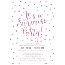 Surprise Birthday Party Invitations For Adults Guluca