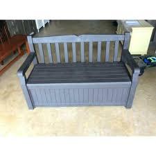 outdoor storage bench seat large