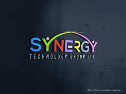 Design For Technology Bold Modern Information Technology Logo Design For Synergy