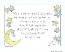 Baby Gift Thank You Note Baby Gift Thank You Cards Pixeljam