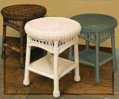 sands round end tables wicker table lamps uk rattan round wicker end table