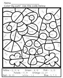 math coloring worksheets.  Worksheets In Math Coloring Worksheets C