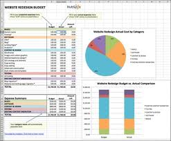 10 Top Tips For Creating An Excel Budget Or Excel Budget Template