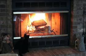 how to clean fireplace glass doors for elegant cleaning gas door fire