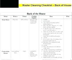 Warehouse Cleaning Schedule Template Warehouse Cleaning