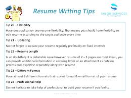 Tips To A Good Resume Resume Writing Tips Hudsonhs Me