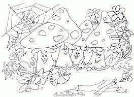 Bekend Herfst Kleurplaat Paddestoel Ud27 Belbin Idee Kleurplaten