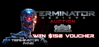 Your Bids Win 150 To Boost Your Bids In The Propstore Com Terminator Genisys