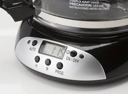 It spits so hard into the coffee grounds that the water splashes out of the filter and washes the grounds down the outside of the filter into the pot. Hamilton Beach 12 Cup Programmable 49465r Coffee Maker Consumer Reports