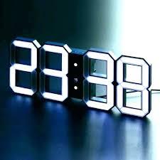 wall clock digital battery powered wall clocks battery operated wall clocks large digital wall clock digital wall clock digital