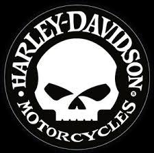 harley davidson small hubcap skull decal motorcycle biker dc1029302