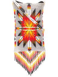 Navajo bead designs Virtual Jessie Western Navajo Bead Bag Grey Tomni Design Jessie Western Navajo Bead Bag Grey Modesens