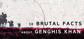 interesting facts about genghis khan org 10 interesting facts about genghis khan