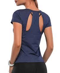 THANTH <b>Womens Workout</b> Clothes Short Sleeve Yoga Tops <b>Athletic</b> ...